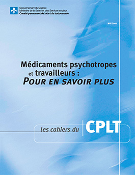 Médicaments psychotropes et travailleurs : pour en savoir plus