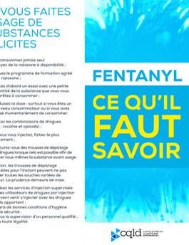 Le fentanyl dans la mire du Centre québécois de lutte aux dépendances